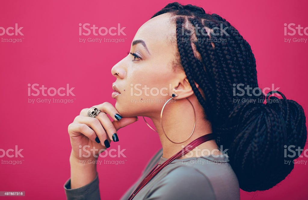 Live life to express not to impress stock photo