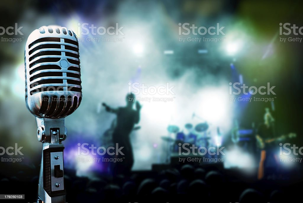 live music background royalty-free stock photo