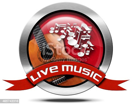 istock Live Music - Metal Icon 465743316