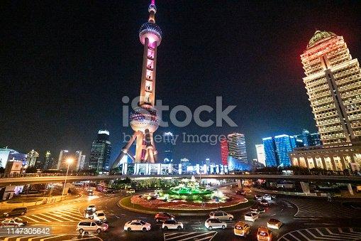 544101220 istock photo Live Night In Shanghai 1147305642