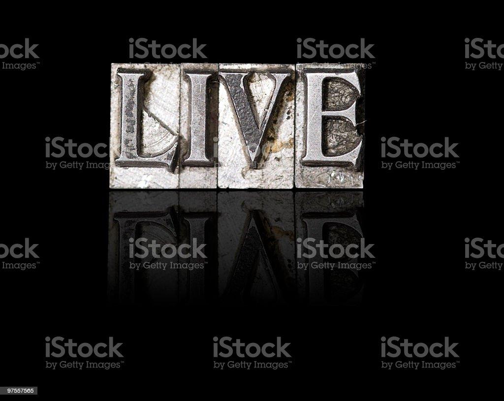 En Live photo libre de droits