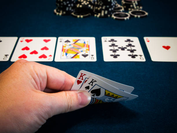 Live Poker Game In Casino Stock Photo - Download Image Now - iStock