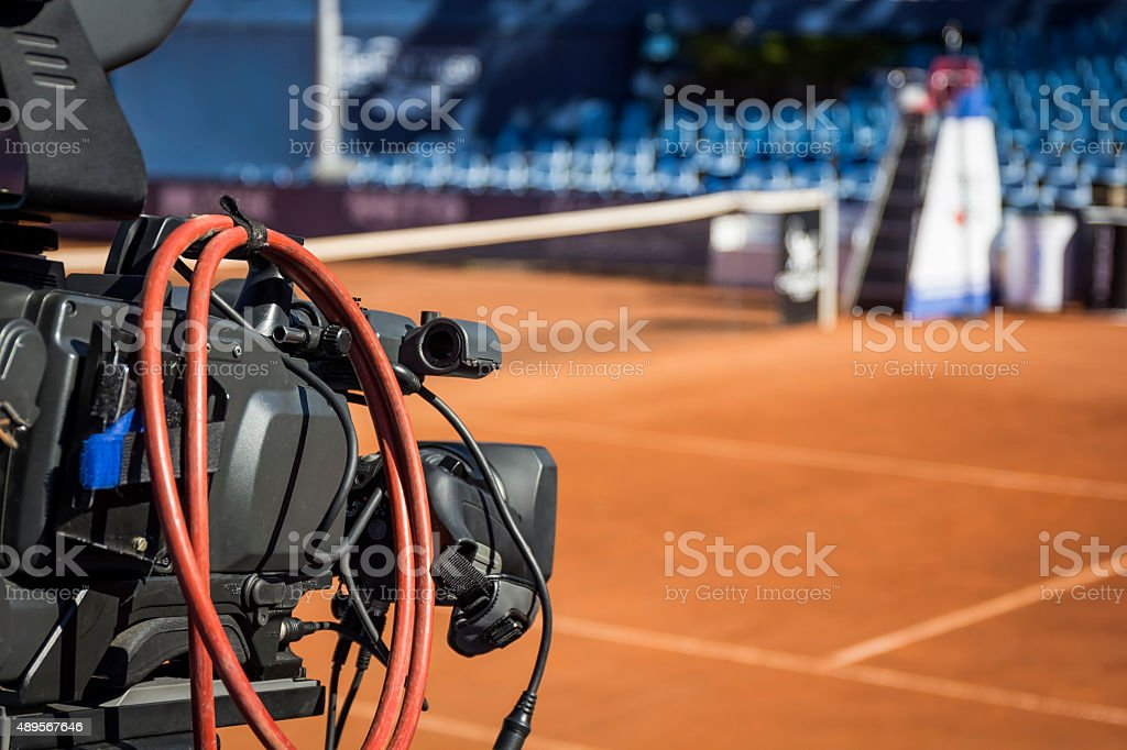 Live sports events stock photo