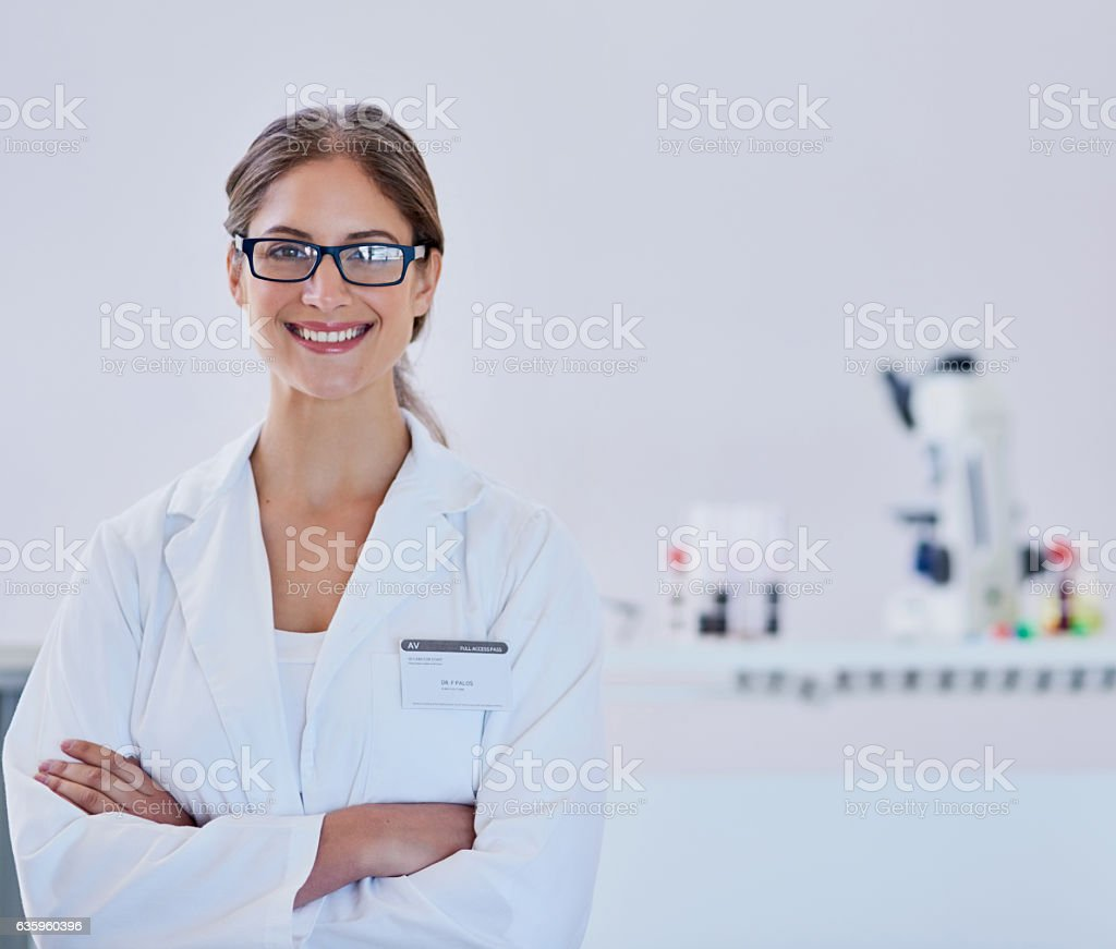 I live to find new discoveries stock photo