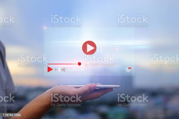 Live video content online streaming marketing concept picture id1197847204?b=1&k=6&m=1197847204&s=612x612&h=ewsfxshljazv9oqgdvgjk5oncgung4bhbuaajpo3b8a=