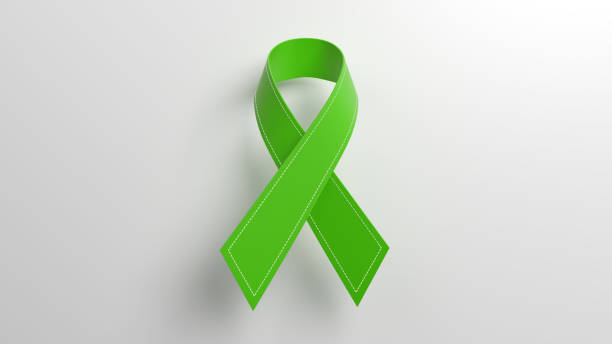 liver cancer and hepatitis b disease awareness concept - kelly green stock pictures, royalty-free photos & images