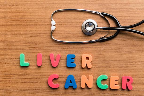 liver cancer stock photo