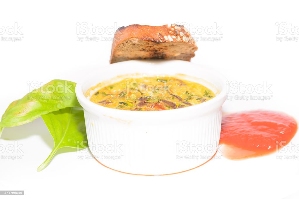 Liver souffle royalty-free stock photo