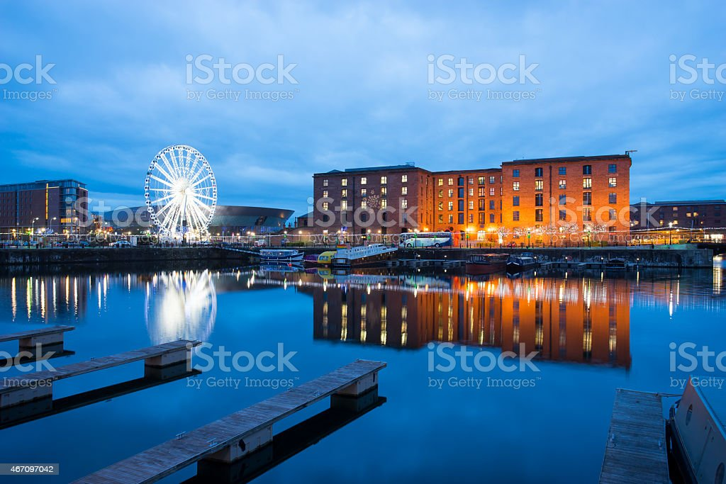 Liverpool, Albert Dock, England, UK stock photo