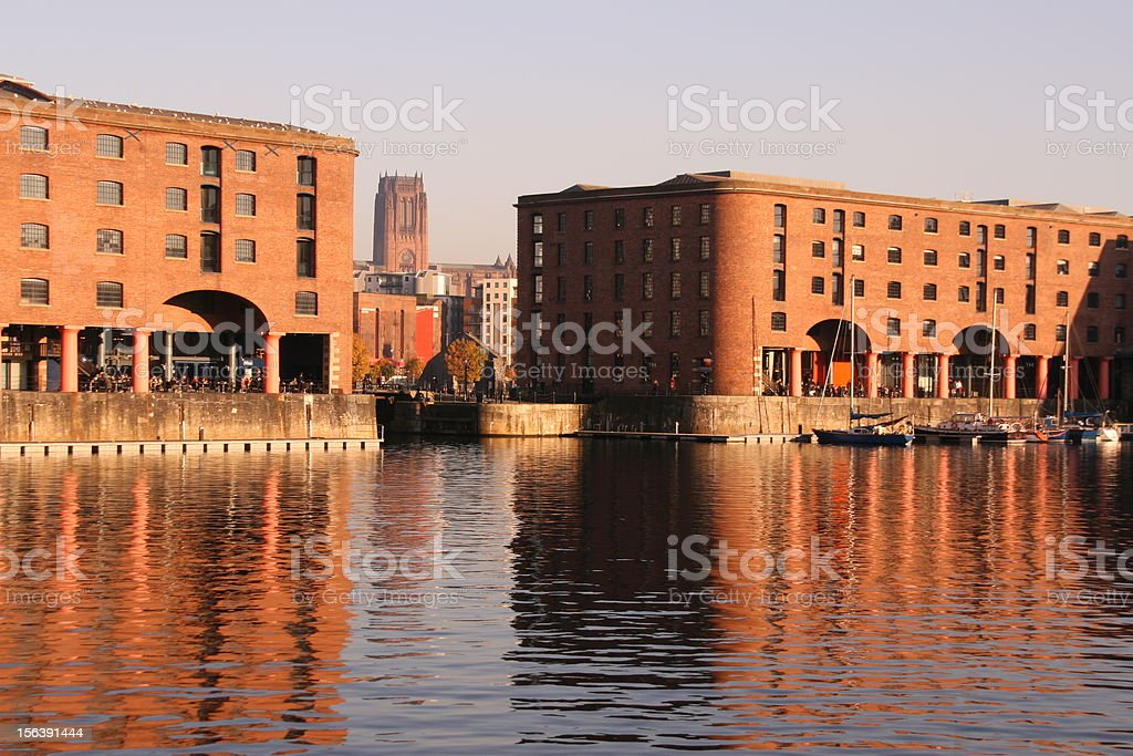 Liverpool, Albert Dock stock photo