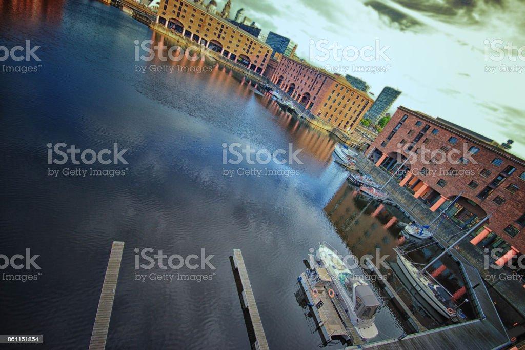 Liverpool Albert Dock royalty-free stock photo