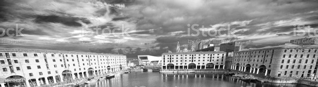 Liverpool Albert Dock royalty-free stock photo