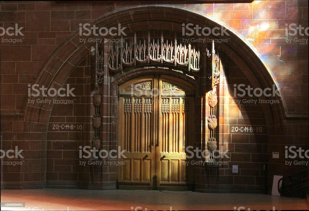 Liverpool Anglican Cathedral royalty-free stock photo