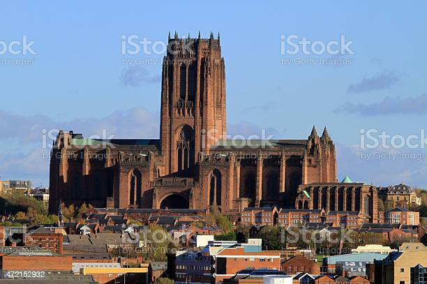 Liverpool Anglican Cathedral Stock Photo - Download Image Now