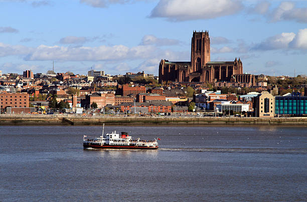 Liverpool Anglican Cathedral stock photo