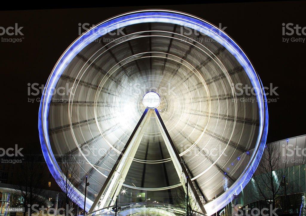 Liverpool Big Wheel royalty-free stock photo