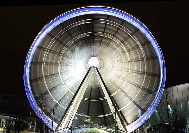 Liverpool Big Wheel stock photo