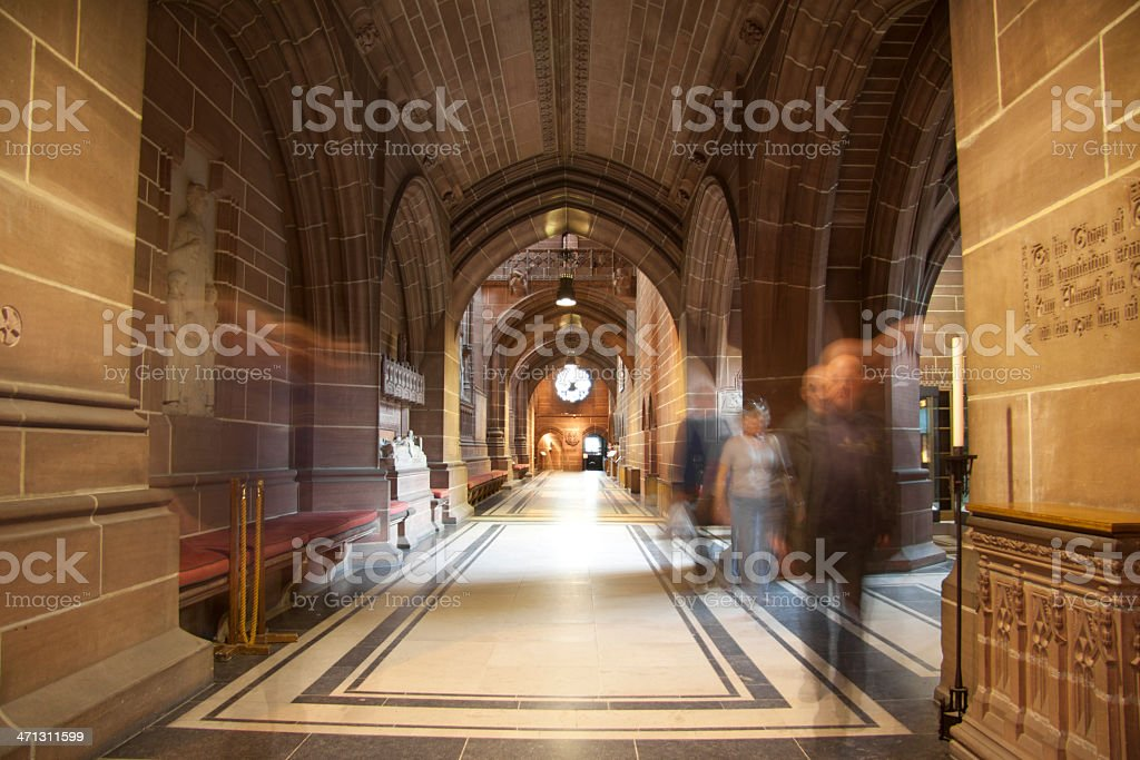 Liverpool Cathedral royalty-free stock photo