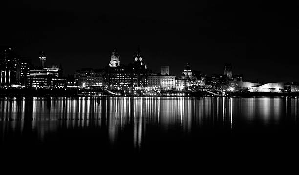 Liverpool Cityscape stock photo