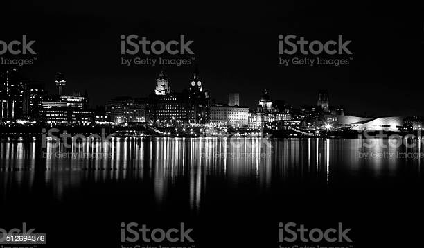 Liverpool Cityscape Stock Photo - Download Image Now