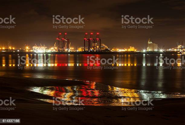 Liverpool Docks Reflections Stock Photo - Download Image Now