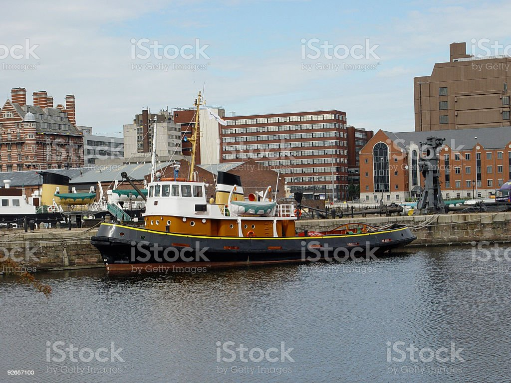 Liverpool England royalty-free stock photo
