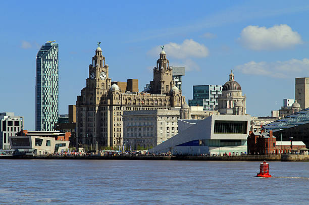 Liverpool Iconic Waterfront stock photo