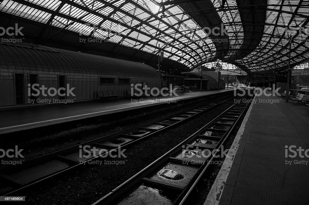 Liverpool Lime Street Station royalty-free stock photo