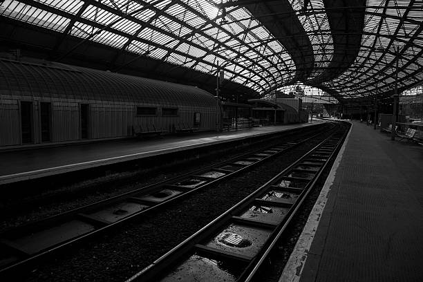 Liverpool Lime Street Station stock photo