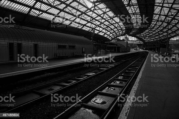 Liverpool Lime Street Station Stock Photo - Download Image Now