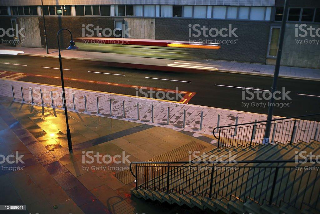 Liverpool nightlights royalty-free stock photo