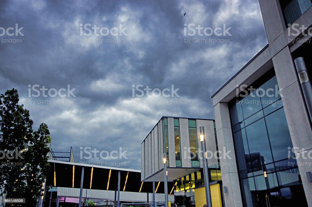 Liverpool One architecture royalty-free stock photo