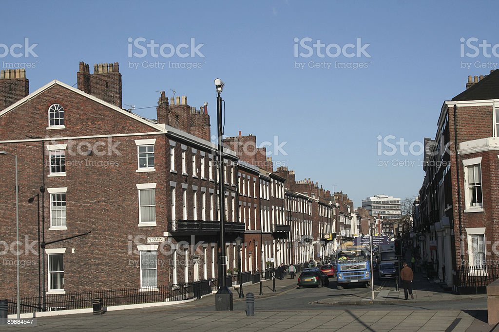 Liverpool street royalty-free stock photo