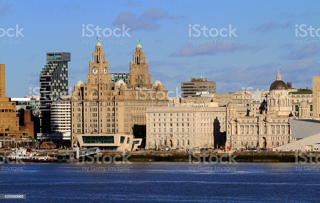 Liverpool Waterfront - Royalty-free Architecture Stock Photo