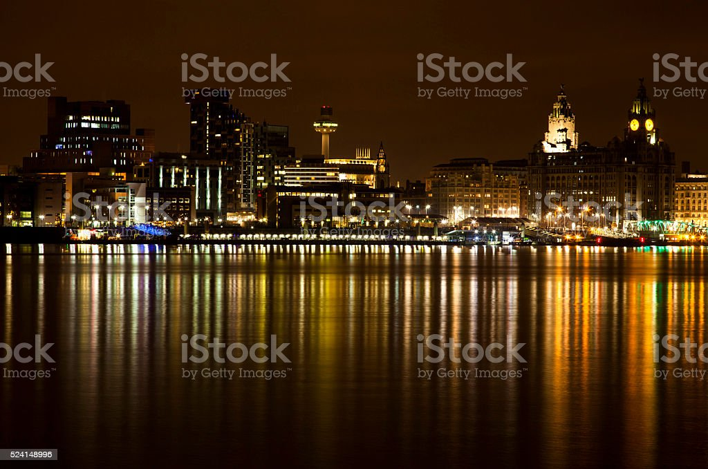 Liverpool Waterfront royalty-free stock photo