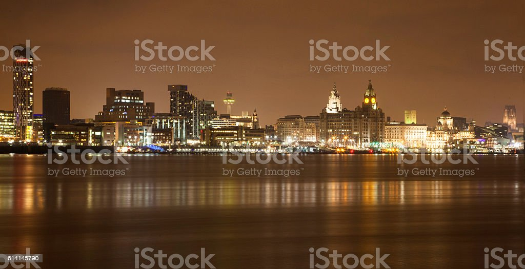 Liverpool Waterfront - Royalty-free Beauty Stock Photo