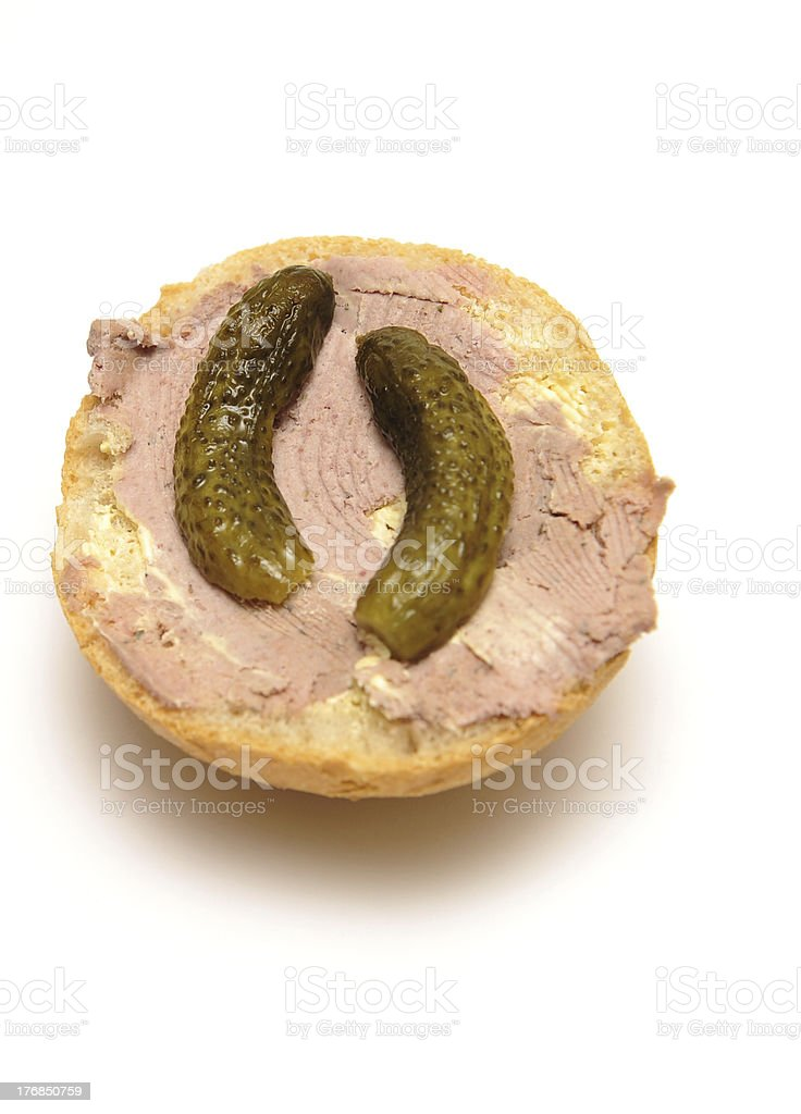 liverwurst stock photo