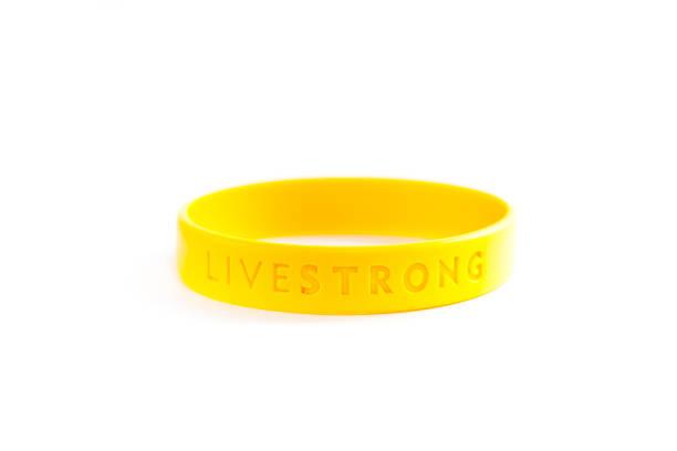Livestrong Bracelet stock photo