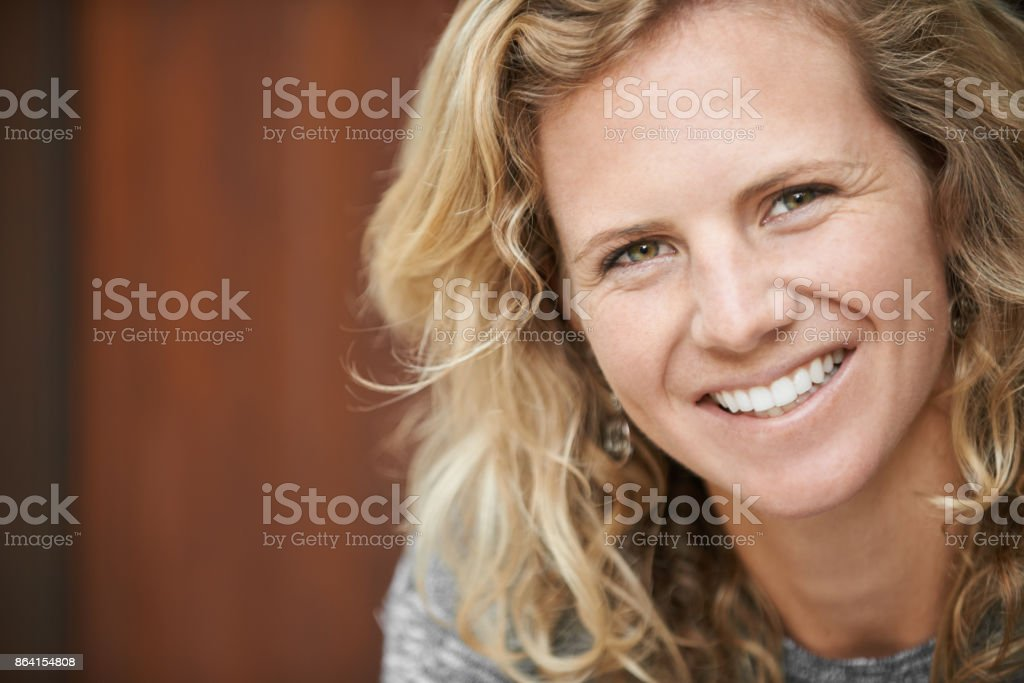 Living a life full of smiles royalty-free stock photo