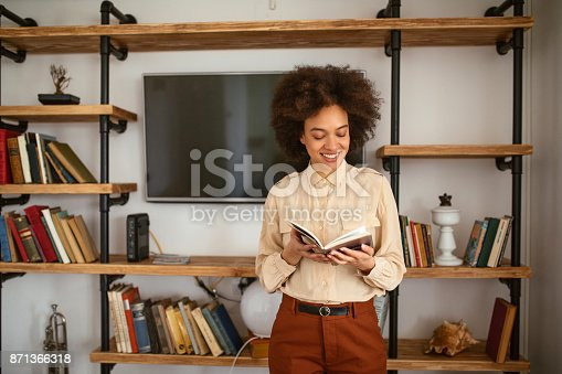 istock Living between the pages 871366318