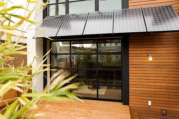 living green - solar panel bildbanksfoton och bilder