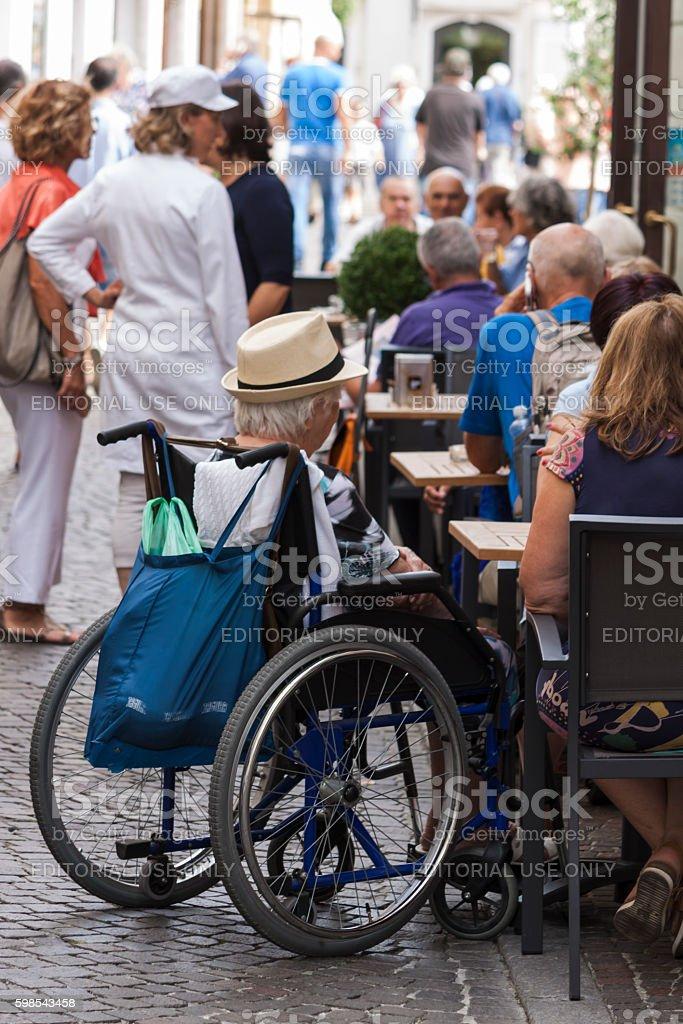 Living handicap photo libre de droits