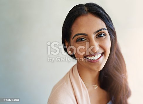 istock Living happily because I deserve to be 629077490