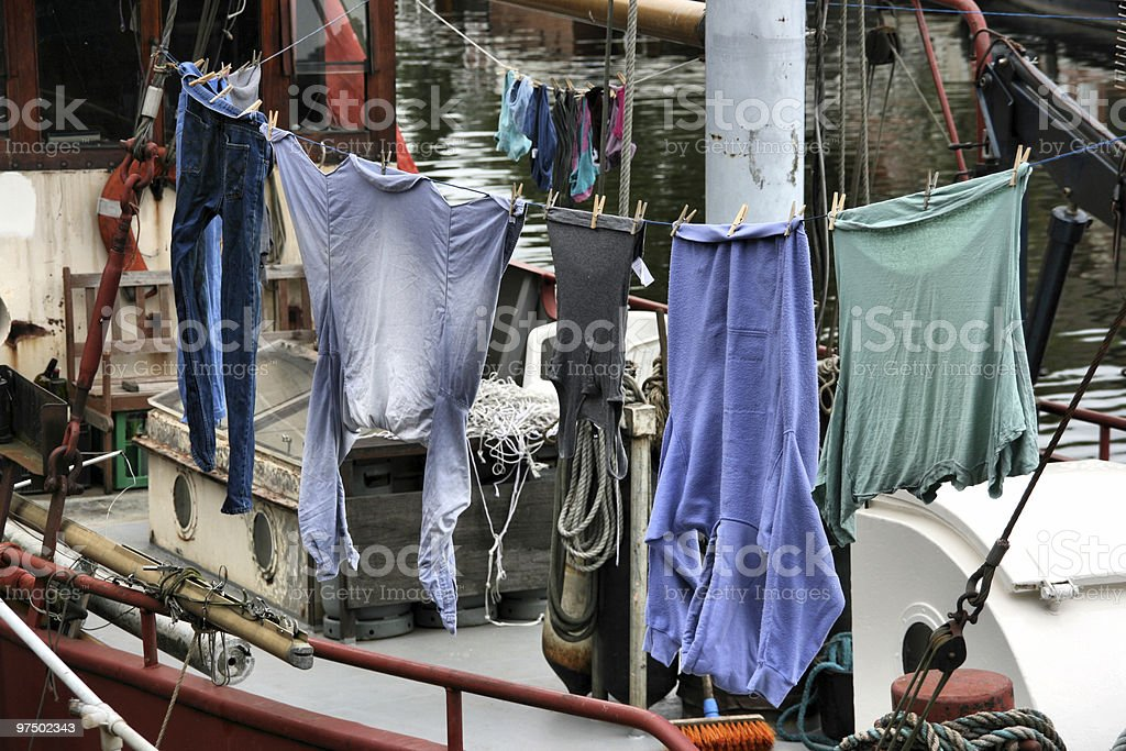 Living in Amsterdam royalty-free stock photo