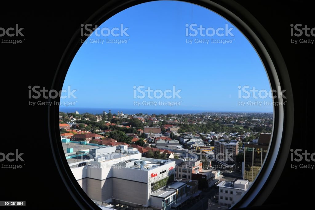 Living in Bondi Junction Sydney, New South Wales Australia stock photo