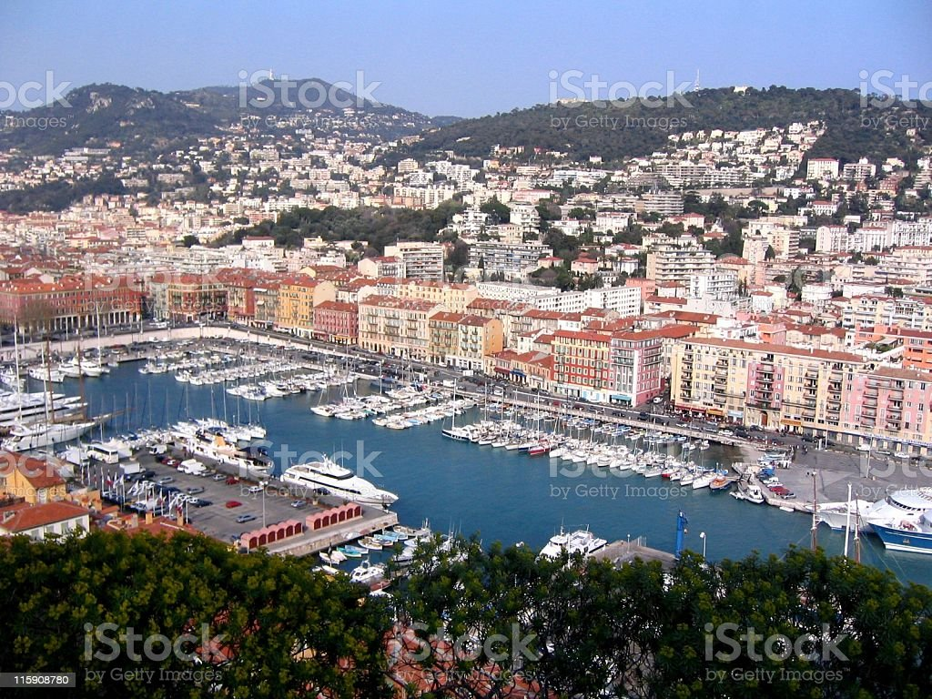 Living in Nice (French Riviera) royalty-free stock photo