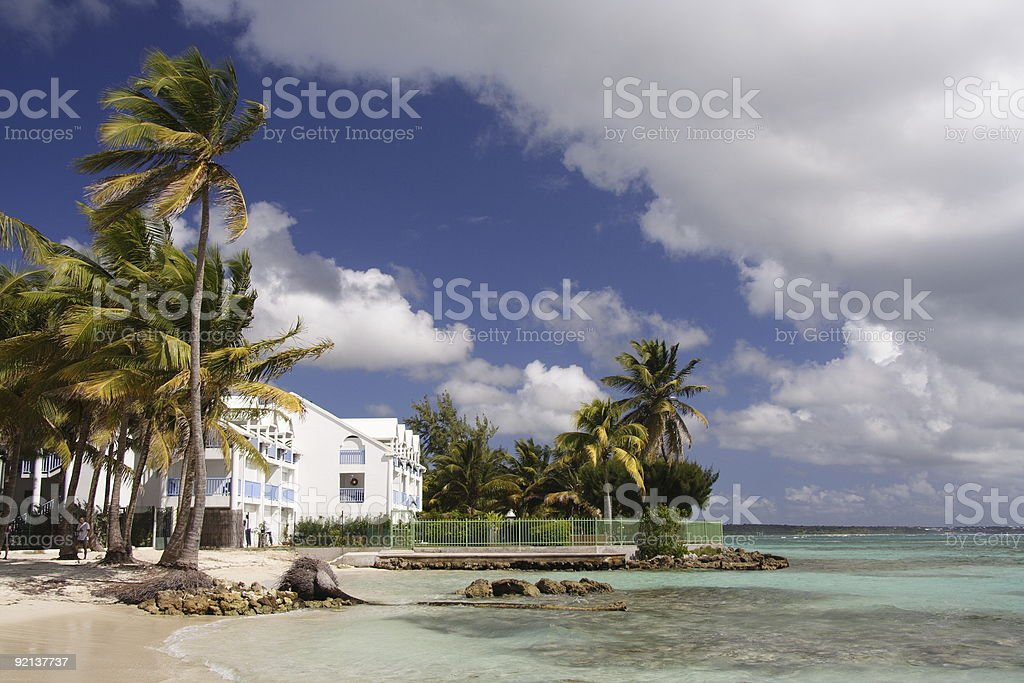 Living in paradies royalty-free stock photo