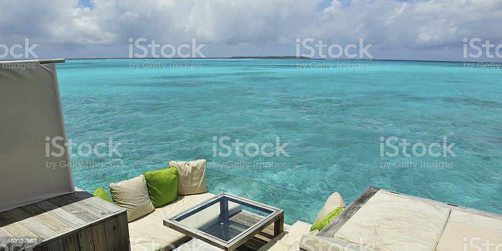Soggiorno In paradiso - foto stock
