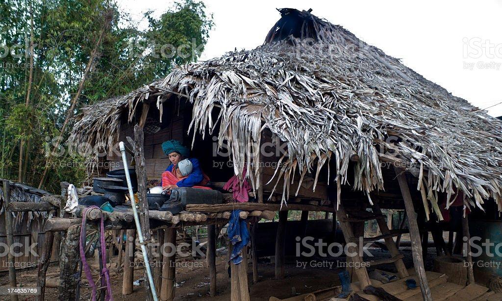 Living in Poverty stock photo