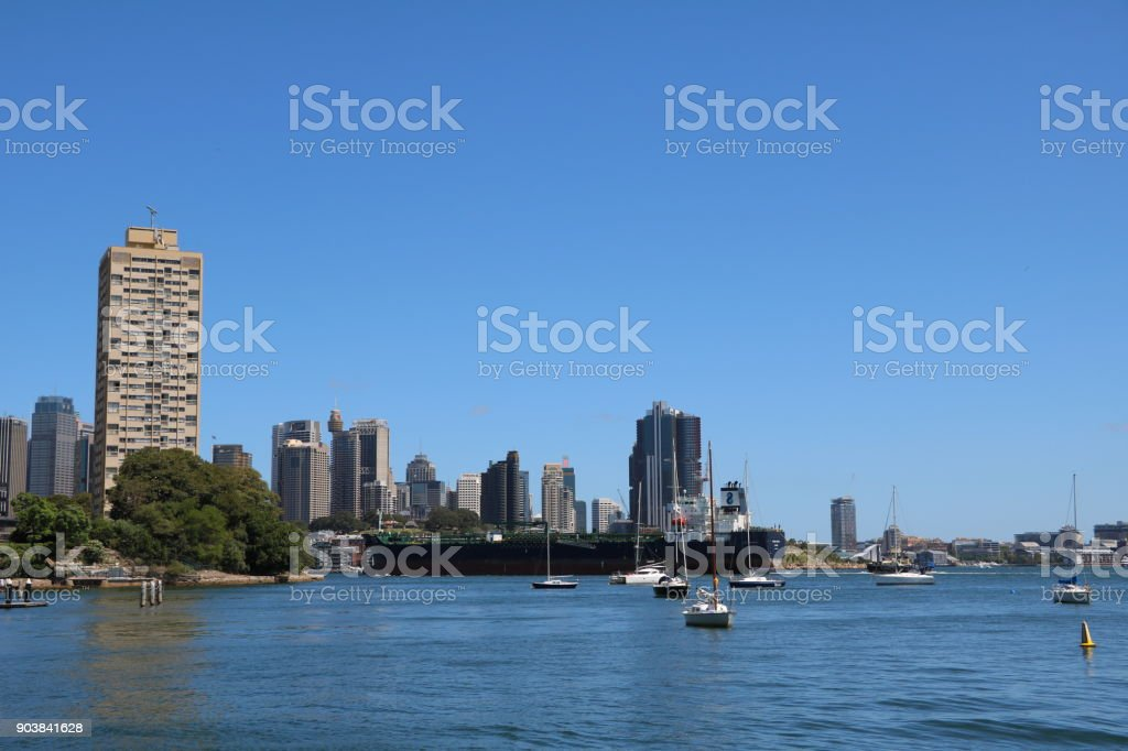 Living in Sydney, New South Wales Australia stock photo